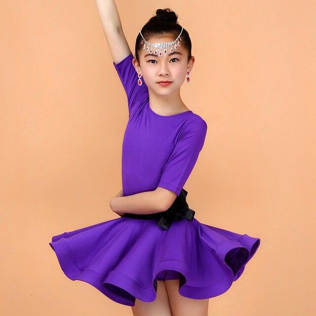 Vestiti della ragazza Vestito Da Ballo Latino Tango Rumba Samba  Abbigliamento Bambino Abiti Salsa Bambini 5529c4b723a