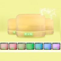 GXZ 500ml Aroma Diffuser Bluetooth Speaker Ultrasonic Night Lights Air Humidifier Timing Mist Maker Mini Desktop