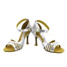 YOVE w153 37 Dance Shoes Women s Latin Salsa Dance Shoes 3 5 Flare High Heel