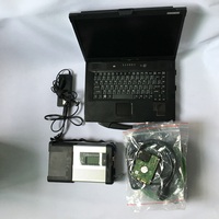 MB STAR C5 Wifi Function With Newest 2019.12 HDD Software Multi languages with Military CF52 Laptop Toughbook Ready to Work