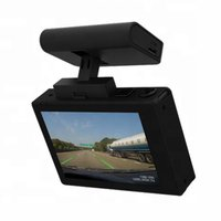 4k Dual Camera Car DVR With Magnetic Mount Built In GPS 3 Inch Touch OLED Screen Dash Camera