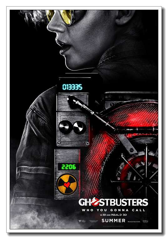 Ghost Movie New Ghostbusters Kate McKinnon Silk Poster Art Bedroom  Decoration 1504 In Wall Stickers From Home U0026 Garden On Aliexpress.com |  Alibaba Group