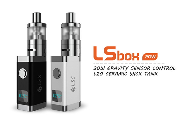 Free DHL Original 100% LSS LSbox 20W Kit 1100mah box mod with tempreture control 20w box mod