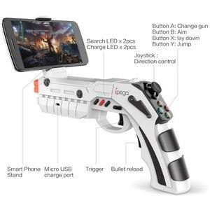 Image 2 - IPega Bluetooth spust pistoletu Joystick dla systemu Android iPhone telefon komórkowy kontroler Gamepad pad do grania do gier telefon komórkowy