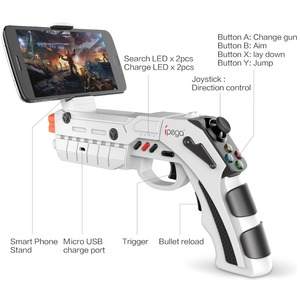 Image 2 - iPega Bluetooth Trigger Gun Joystick For Android iPhone Cell Phone Mobile Controller Gamepad Game Pad Gaming Control Cellphone