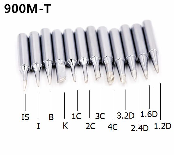 SZBFT Solder Iron Tips 900M-T Series For Hakko 936 Soldering Rework Station Free Shipping