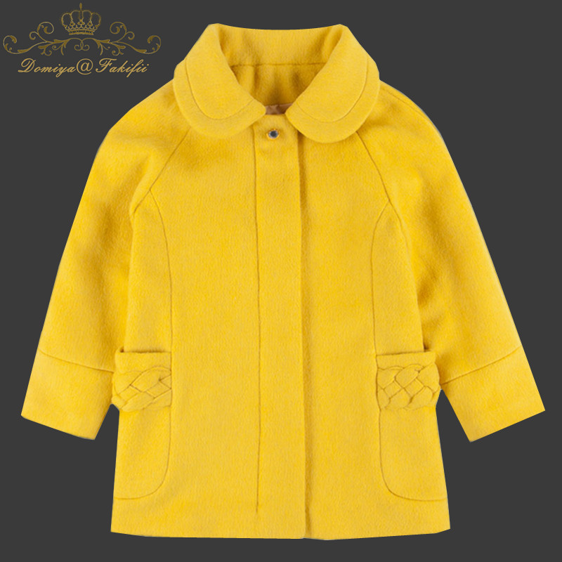 Girls Wool Jackets Spring Windbreaker Baby Girls Clothes 2018 Brand Winter Kids Unicorn Warm Coats Outerwear Children Clothing girls jackets and coats 2018 new brand outdoor baby windbreaker coats kids warm capes children winter outerwear girls clothing