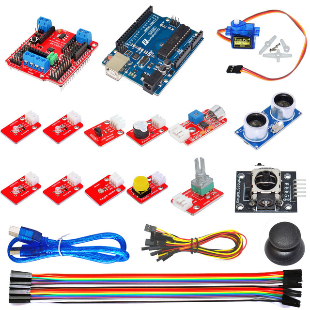 US $28 48 5% OFF|New! Ardublock graphical programming learning kit, Zero  based learning for Arduino-in Demo Board from Computer & Office on