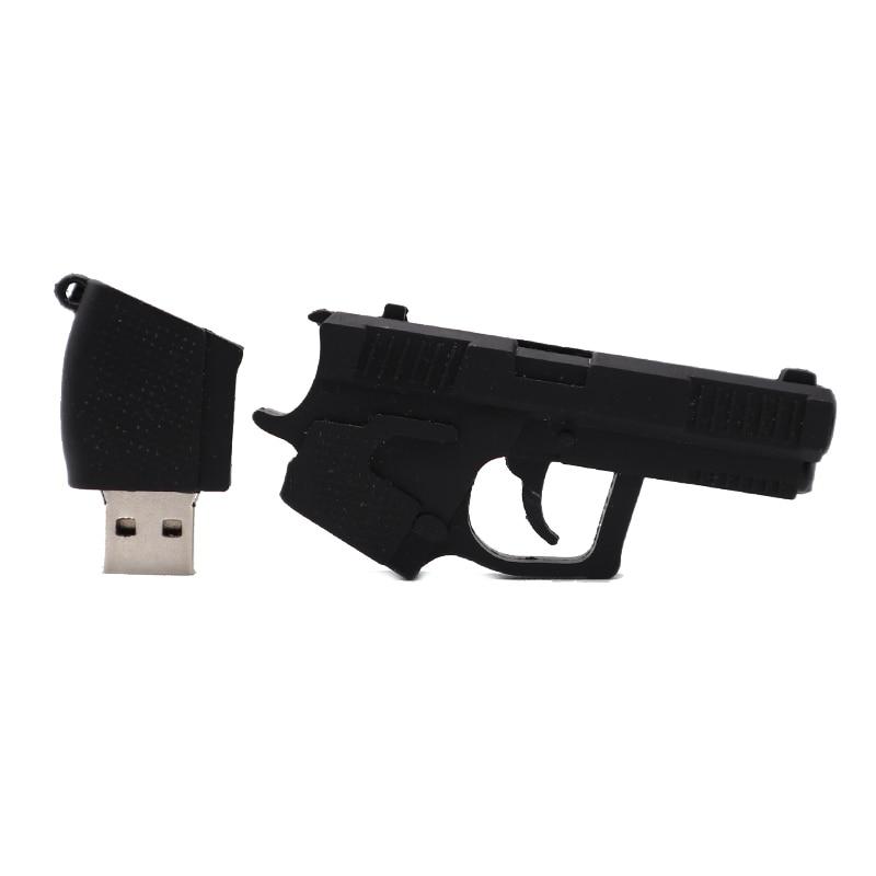 Pendrive cool gun model usb flash drive 4GB 8GB 16GB 32GB 64GB cartoon AK47 Pistol memory stick creative gift pendrive usb stick in USB Flash Drives from Computer Office