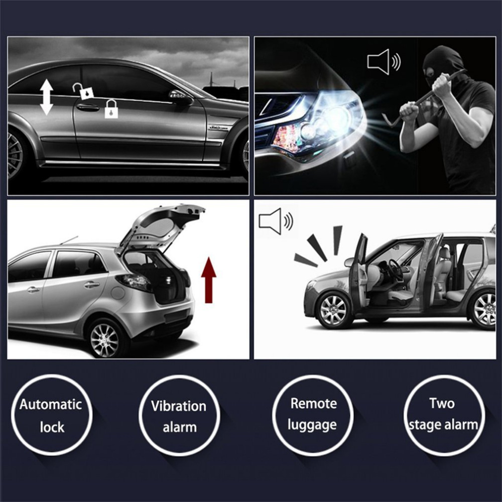 smart car start system push engine start button engine lock ignition Automotive Charging System push button engine start telecontrol starting function remote start 6 seconds preheating in advance function automatically lock the host after stalling