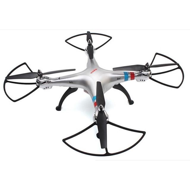 Syma X8G 2.4G 4CH Transmisor Modo Sin Cabeza y Sin Batería de La Cámara Con Modo Sin Cabeza RC Quadcopter BNF Helicóptero de Juguete Para Niños regalo