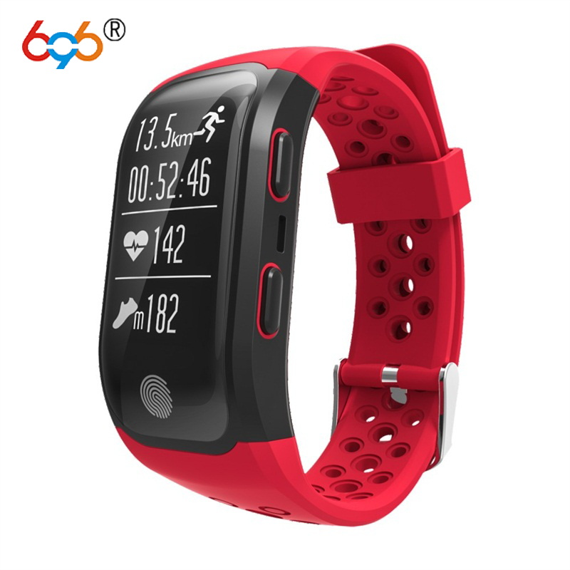696 Heart Rate Smart Wristband GPS Track Record Band 2 Sleep Fitness Tracker