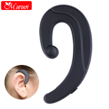 M.uruoi Bone Conduction Earphone With Microphone Earbud Handsfree Bluetooth For Phone Portable Wireless Earpiece Ear Headset