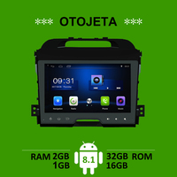 OTOJETA car accessory for Kia Sportage radio gps navi android 8.1 stereo tape recorder radio headunit multimedia carplay players
