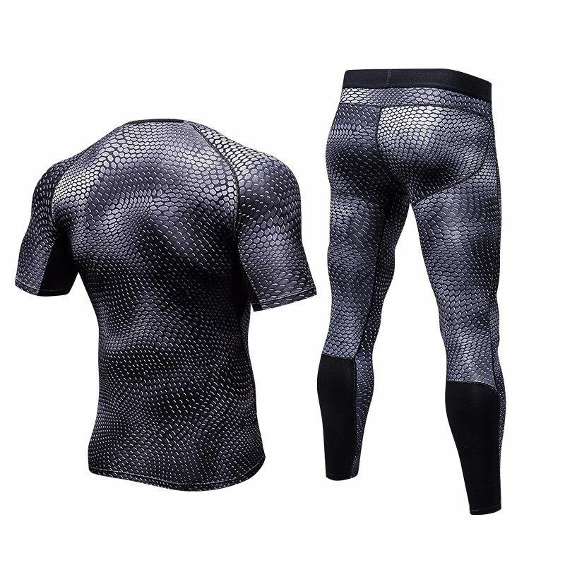 Olahraga Kebugaran Bodybuilding Kompresi Yuerlian Baru Hitam Menjalankan T Shirt Celana Legging Pria Demix Olahraga Gym Olahraga Sesuai In Menjalankan Set From Olahraga Hiburan On Aliexpress
