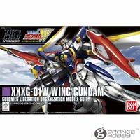 OHS Bandai HGUC 162 1/144 XXXG 01W Wing Gundam Mobile Suit Assembly Model Kits
