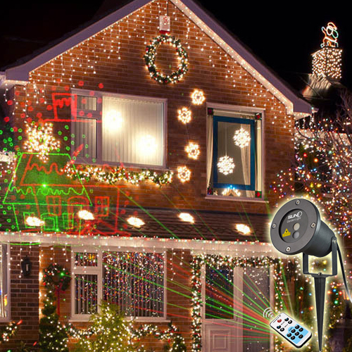 Outdoor Rg Waterproof Latest Laser Light Outdoor Christmas