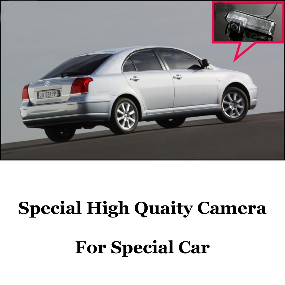 Car Camera For TOYOTA Avensis T250 T270 2003~2014 High Quality Rear View Back Up Camera For CCD with RCA Car