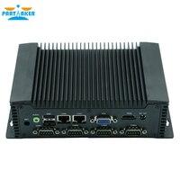 Partaker Q7 Industrial Mini PC Windows 10 Intel Atom N2600 With 6* COM COM3 COM6 Support RS485 Function