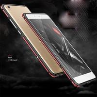 Original LUPHIE Phone Cases For Xiaomi Mi MAX 2 Case Luxury Slim Metal Aluminum Hard Armor