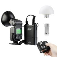 Godox AD360 AD360II N 360W i TTL Flash For Nikon + Soft Diffuser + PB960 Battery + X1N T Trigger