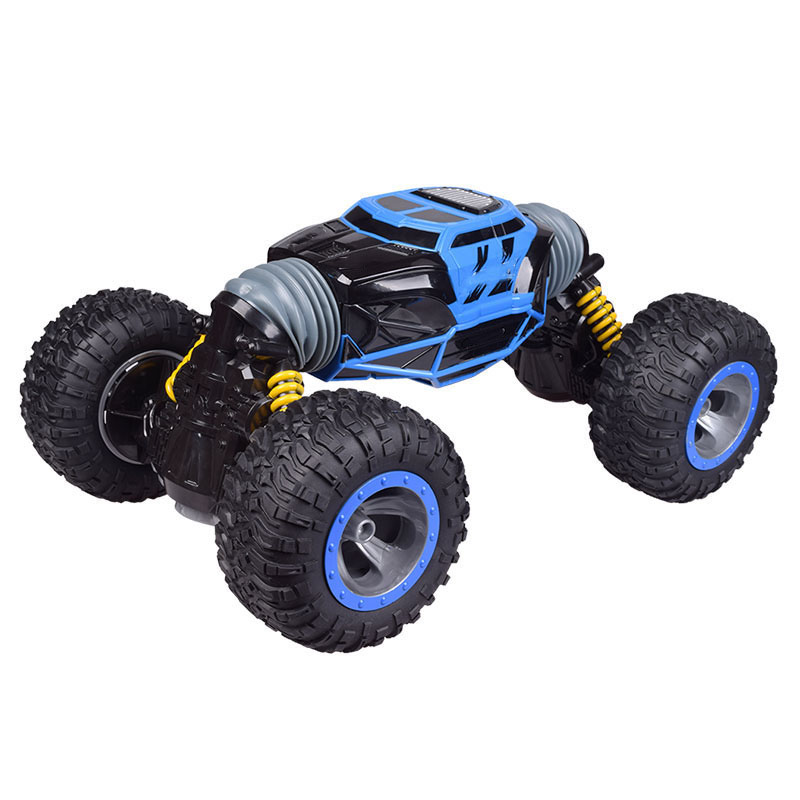2.4G Four Wheel Drive RC Cars Crawler 4WD Double Sided Stunt Transform Vehicle Toy Rechargeable Car Gift For Birthday