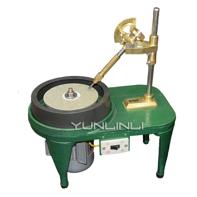 YY(BD)6312 Portable Jade Surface Grinding And Polishing Machine With 6' Grinding Aluminum Plate Gemstone Processing Machine