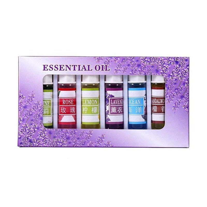Chaud! huile essentielle d'aromathérapie, huile essentielle végétale naturelle Soluble dans l'eau parfum pur pour aromathérapie lampe humidificateur Oxyg