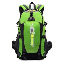 40L Waterproof Backpack Women & Men Travel Bagpack Outdoor Mountain Climbing Camping Hiking Backpack Sports Back Bag New