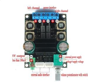 Image 3 - DC 12V 24V TPA3116 D2 Hifi 2.0 Channel 50W + 50WเสียงDigtailเครื่องขยายเสียงบอร์ด