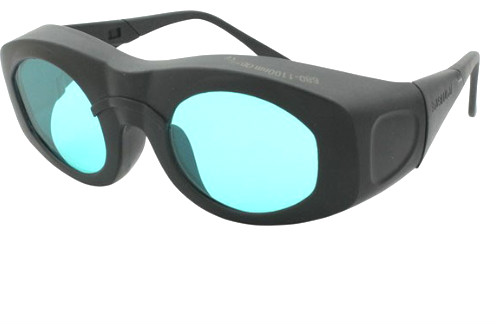 laser safety glasses for 680 1100nm O.D 7+ CE high VLT 75% 755nm 808 810nm 980nm 1064nm 1070nm lasers