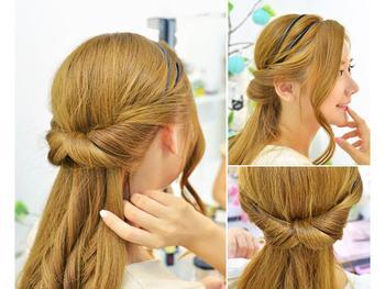 Durable Magic Hair styling tool Elastic Clip Hair Curler Braid tool Twist Party