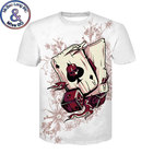 Brand Poker T Shirt Men Women Playing Cards Clothes Gambling Shirts Funny 3D Tshirt Men Hip Hop Streetwear Top Tee Shirt Homme