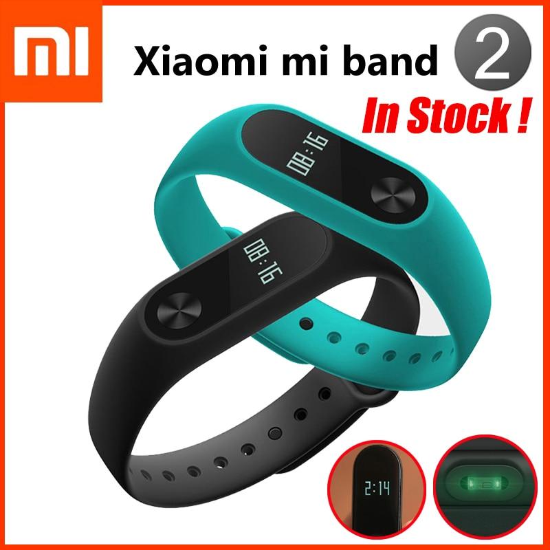 Original Xiaomi Mi Band 2 Heart Rate Smart Wristband Activity Fitness