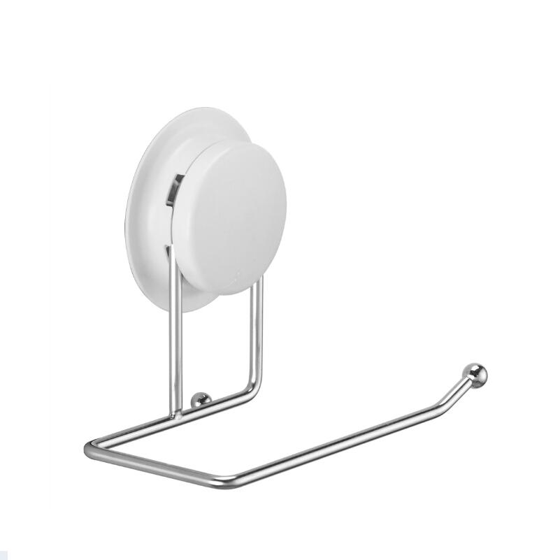 suction cup or glue fix stainless steel bathroom towel rack towel ...