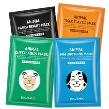 Skin Care Sheep/Panda/Dog/Tiger Four Types Optional Facial Mask Moisturizing Oil Control Cute Animal Face Masks tony moly mask