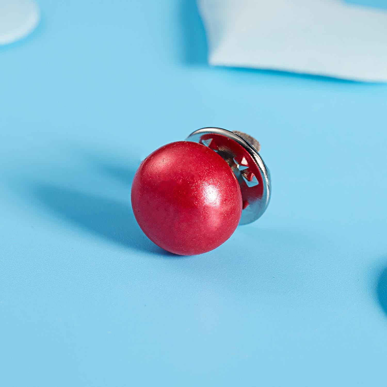 RINHOO Горячая 1 шт имитация жемчуга круг брошь PU Кнопка для женщин Циркон Модные броши красочные - Окраска металла: 17