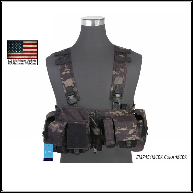 Military Chest Rig Tactical Vest Airsoft Combat Gear  LBT 1961A-R USA 500D Nylon Cordura Mandrake EM7451 tactical strategic d mittsu chest rig airsoft military combat gear khaki free shipping stg050940