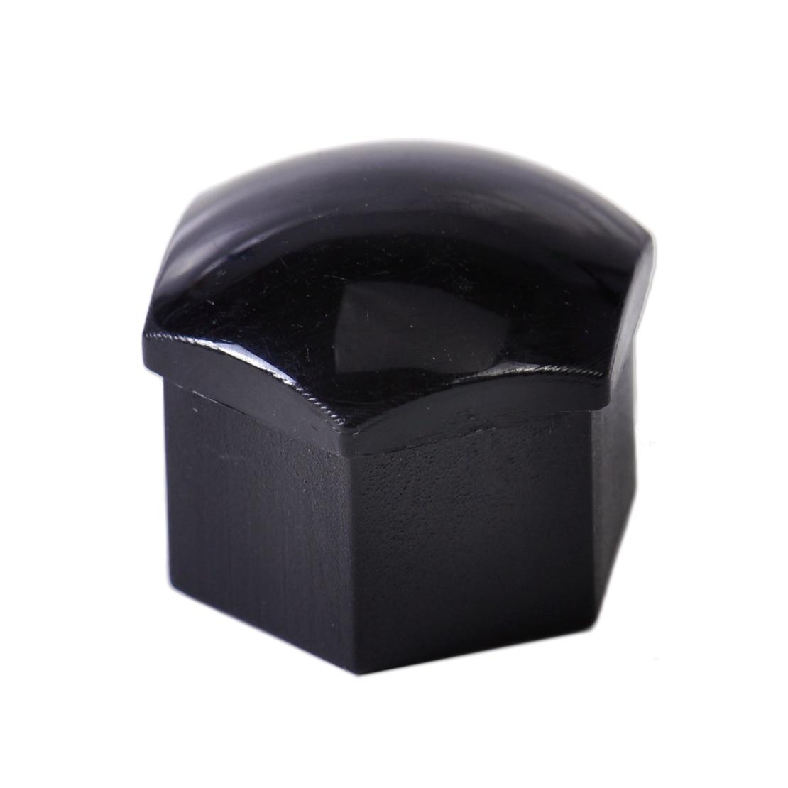 beler 16Pcs Car Wheel Lug Bolt Center Nut Covers Caps for Audi VW SKODA SEAT with 17mm Hexagon bolt 321601173, 321 601 173A