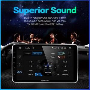 "Image 4 - Dasaita Auto Radio 1 Din Android 9,0 TDA7850 10.2 ""IPS Universal Auto Auto Stereo Bluetooth GPS Navigation HDMI Ausgang 64G ROM"