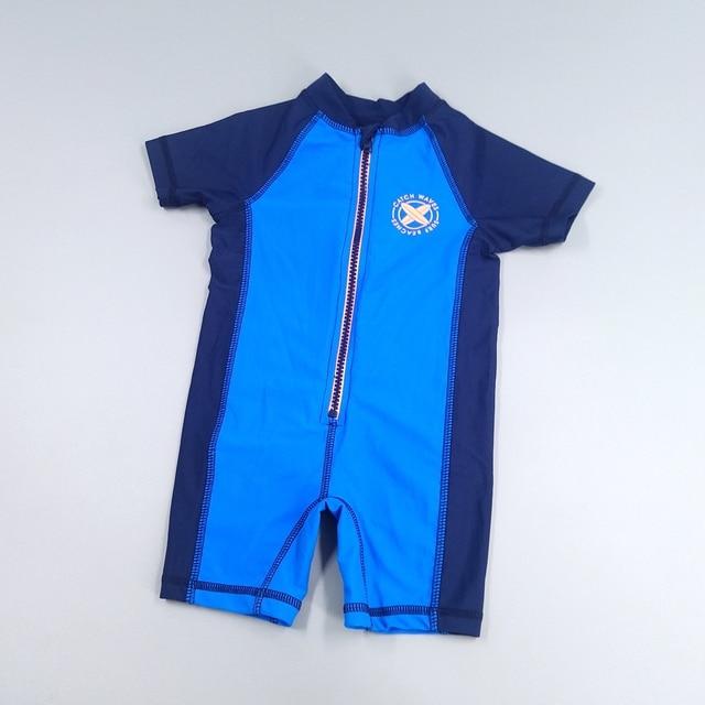 456686e35a Chumhey Top Quality Baby boys swimwear UV 50+ sun protection one piece kids  bathing suit