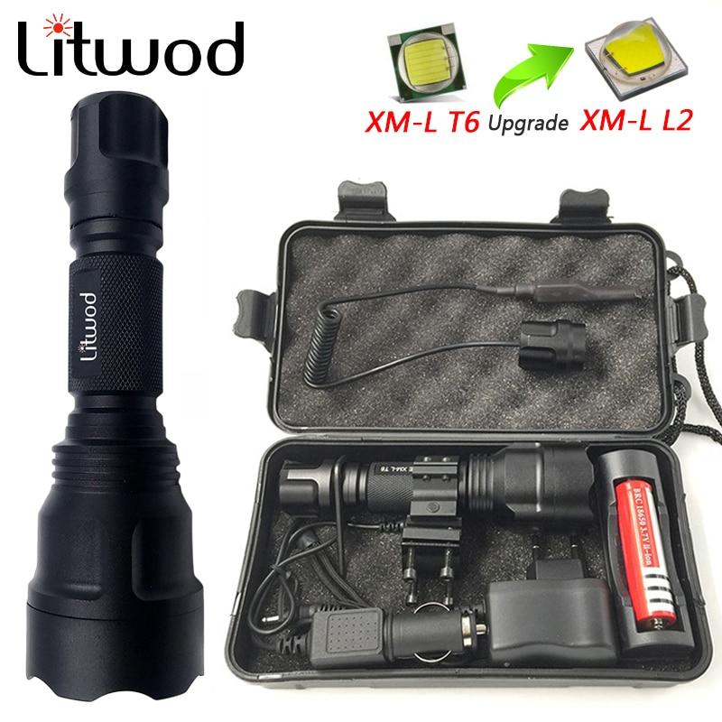 Z10 New High Power C8 Flashlight Cree XML2 T6 Q5 LED Flashlight,torch,lanterna Bike ,self Defense,camping Light,lamp,for Bicycle