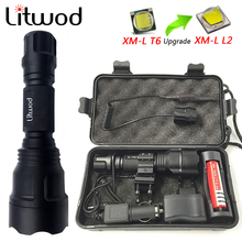 Z10 New high power C8 flashlight Cree XML2 T6 Q5 LED