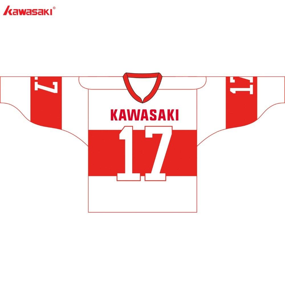 Kawasaki ապրանքանիշ Unisex Ice Hockey Jersey - Սպորտային հագուստ և աքսեսուարներ - Լուսանկար 4