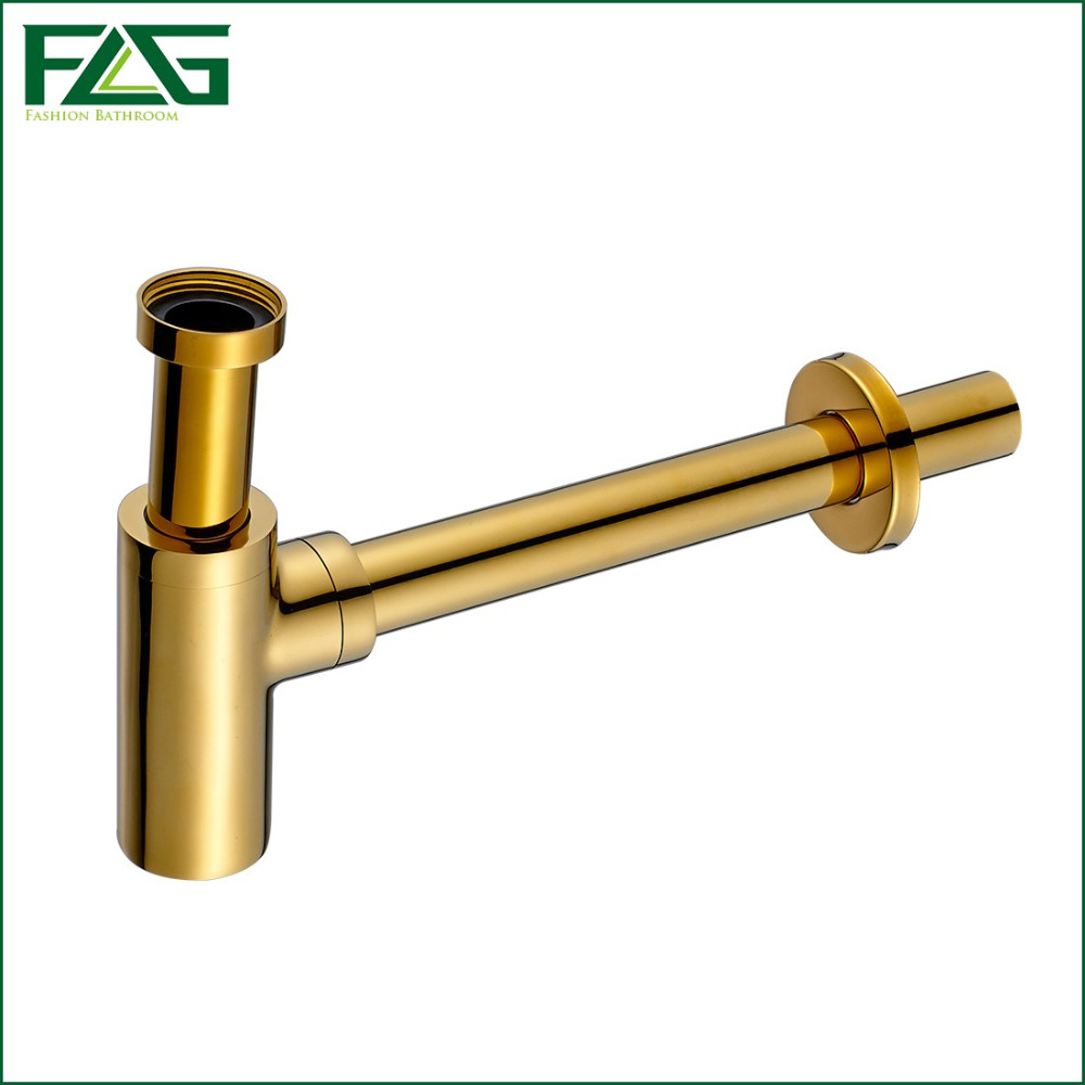 ФОТО Factory Direct Square Solid Brass High Quality Plumbing P-Trap Vanity Trap Bottle For Wash Basins Or Bathroom Sink Pop Up Drain