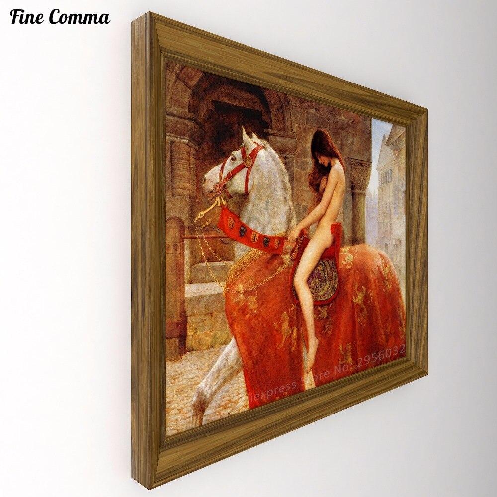 Lady Godiva 1897 Door John Collier 100 Handgeschilderde Olie Schilderen Reproductie Canvas Wall Art Pictures Home Decor Voor Living Kamer Art Pictures Wall Art Picturecanvas Wall Aliexpress