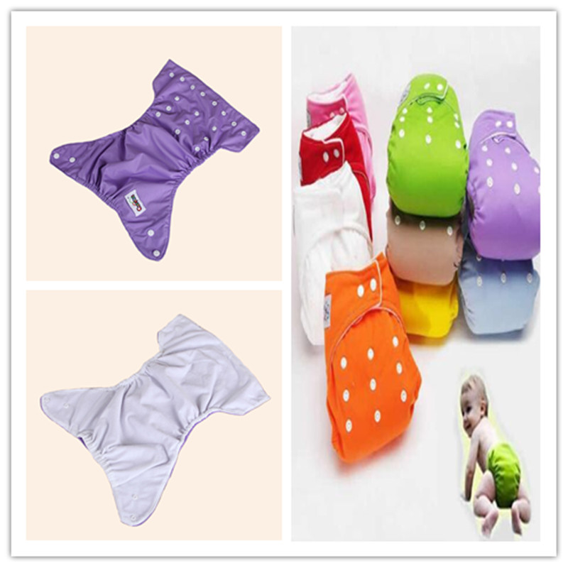 Cloth Diapers Training-Pants Snaps Reusable Baby HOT WEF2514