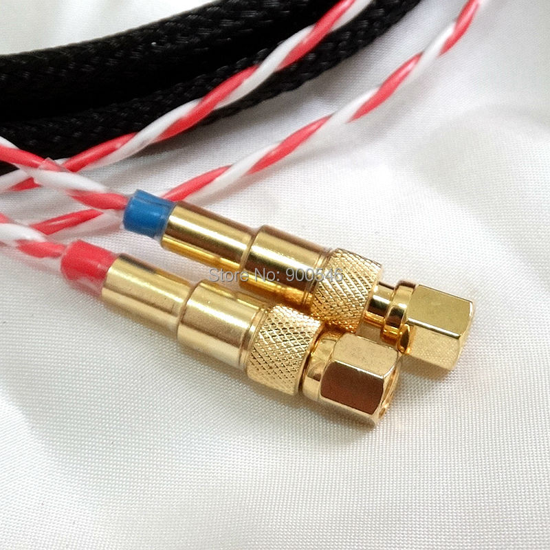 1.5m 5ft FURUKAWA 후루 테치 실버 실드 헤드폰 케이블 - 휴대용 오디오 및 비디오 - 사진 3