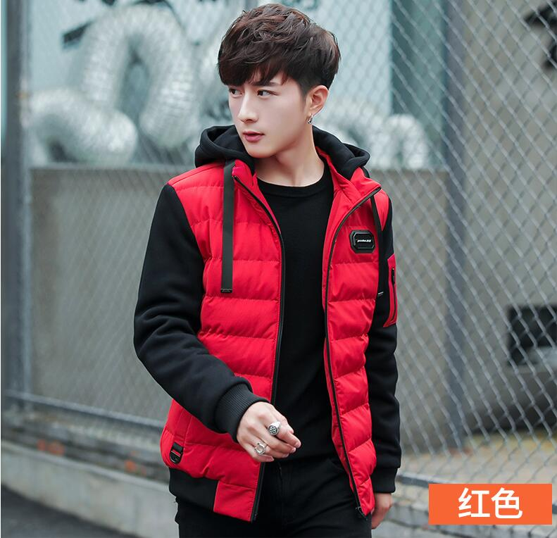 Baumwolljacke Feder Daunenkoreanische Winter Stil Mantel kurzverdickte neuer ModeWinterbekleidungSchwarzgr 2018 wOvN80nm