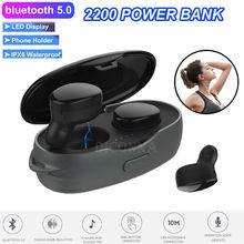 2019 Newest Fashion Bluetooth 5.0 Headset TWS Wireless Earphones Mini Earbuds Stereo Headphones Hot Sale